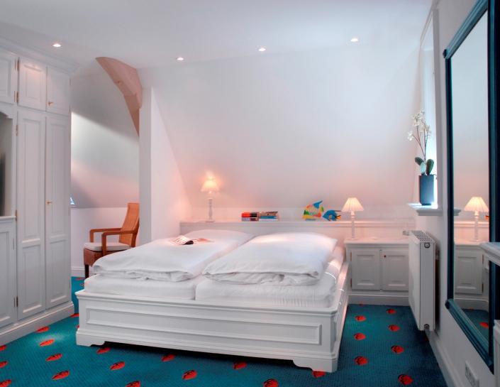 Schlafzimmer Wei Blau Gestalten